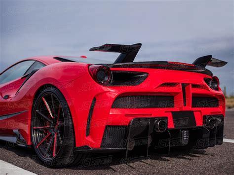 Fits 2015+ ferrari 488 gtb. Ferrari 488 Gtb With Spoiler - Supercars Gallery