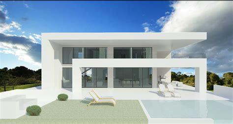 simple open house plans modern turnkey villas in spain portugal