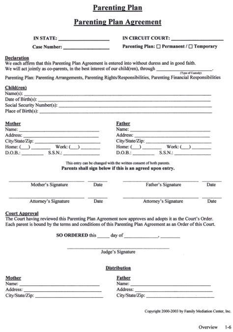 parenting agreement gtld world congress