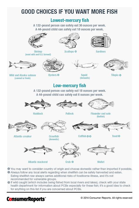fish mercury low chart which know eat safe eating much fishes seafood levels tuna pregnant fda lowest canned salmon avoid