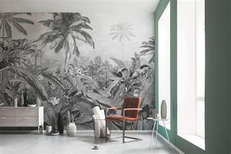 amazonia black white po vd wallpaper mural
