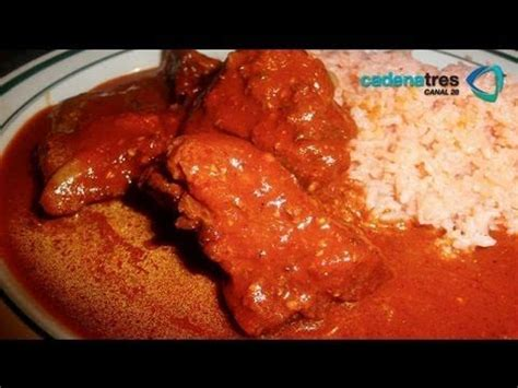 cuisine facil receta de costillitas con salsa de chiles receta fácil de