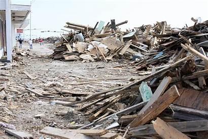 Debris Texas Fema Piles Hurricane Google Galveston