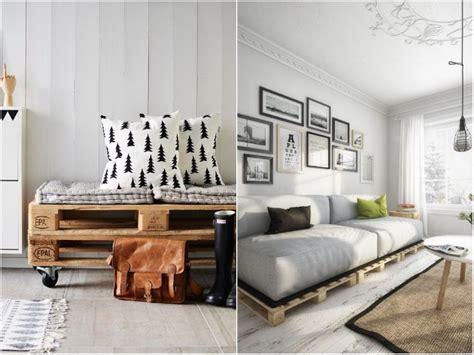 canapé en bois de palette idee deco palette 20 inspi pour réinventer intérieur