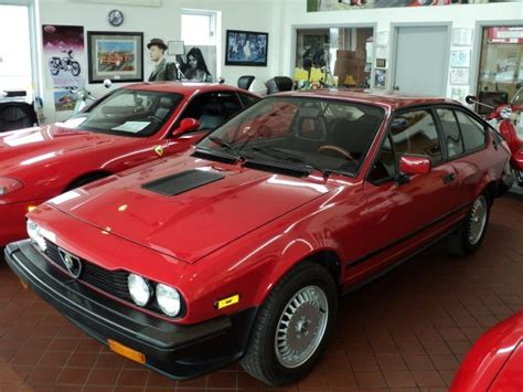 1986 Alfa Romeo Gtv6 by 1986 Alfa Romeo Gtv6 2 5 Classic Italian Cars For Sale