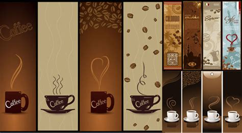 coffee banner vector food free download