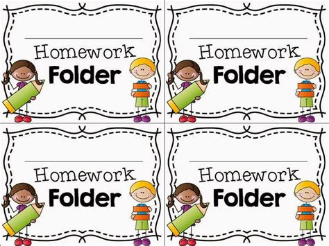 Homework For Primary Students