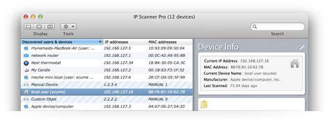 10base t interactive ip scanner free mac network scanning tool from 10base t interactive