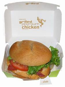 McDonald's Premium Grilled Chicken Club Sandwich - The ...