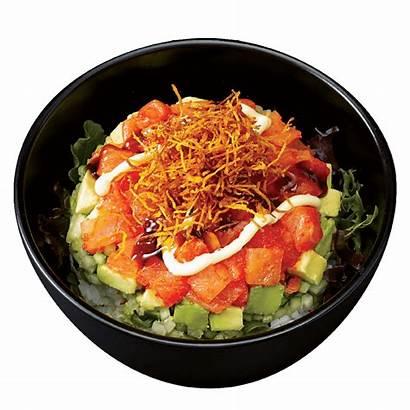 Poke Sunrise Sushi Bowls Menu