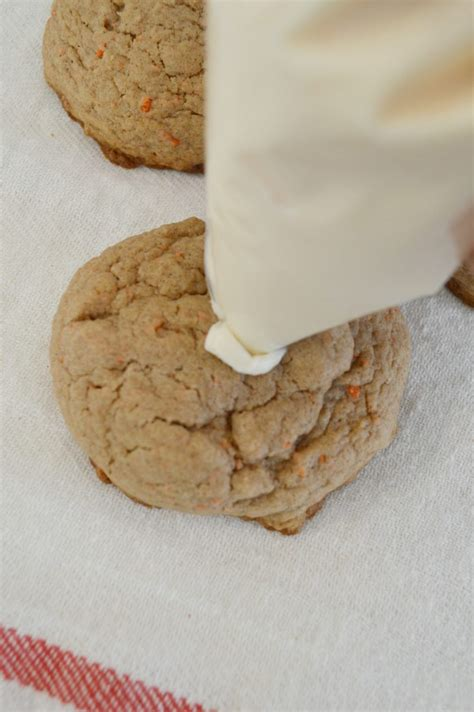 easy carrot cake cookies fox hollow cottage
