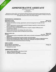 office equipment experience resume administrative assistant resume sle professional experience
