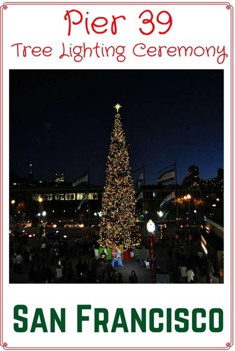 pier 39 tree lighting ceremony 2016 event details