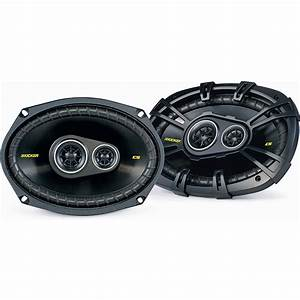 Kicker Car Speakers : kicker 40cs6934 6 x9 3 way 4 ohms car speakers pair at ~ Jslefanu.com Haus und Dekorationen