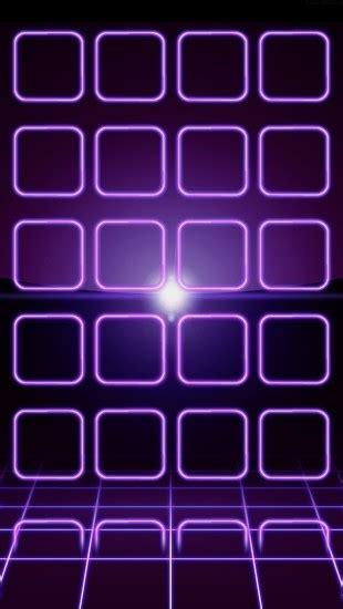 purple neon frames  iphone wallpapers