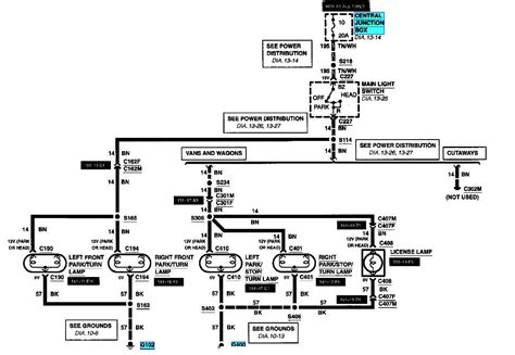 2006 Ford F 250 Backup Light Wiring Diagram by I Need A Wiring Diagram For A Ford E450 Lights The