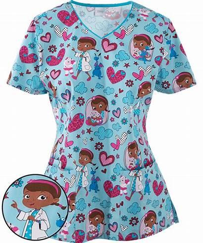 Scrubs Pediatric Nurse Uniform Nursing Scrub Advantage