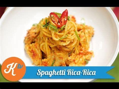 Panaskan minyak di tchef fry pan dan haluskan bahan bumbu halus dengan turbo chopper. Resep Spaghetti Rica-Rica (Spicy Pasta Recipe Video) | MELATI PUTRI - YouTube