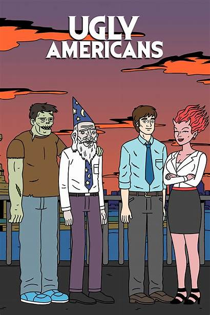 Ugly Americans Series Tv Iphone Wallpapers Poster
