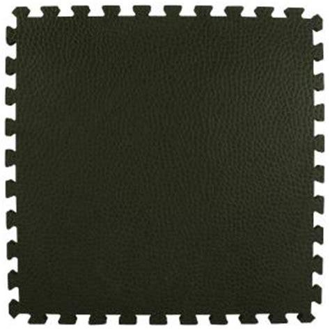 foam tile flooring home depot greatmats pebble top black 24 in x 24 in x 0 75 in