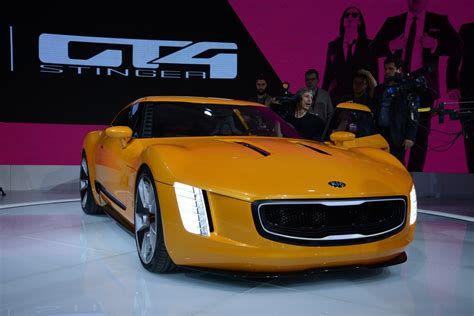 Kia Gt4 Stinger Concept At Detroit