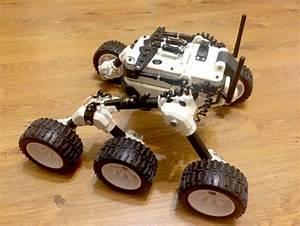 Build Your Own Martian Rover | 3D Printer Plans