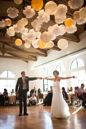 idea for lots of hanging lights wedding inspiration