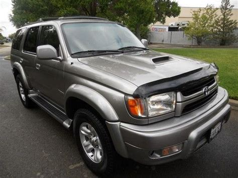 auto air conditioning repair 2002 toyota 4runner engine control sell used 2002 toyota 4runner sr5 sport utility 4 door 3 4l clean title in rancho cordova