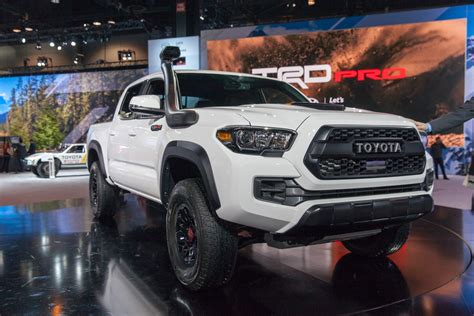 Toyota Tundra Trd Pro 2019 by 2019 Toyota Trd Pro Road Lineup Debuts In Chicago