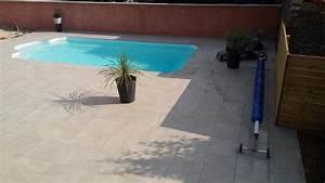 DALLE PIETRA carrelage extérieur 2 cm GRIS imitation pierre CARRA France