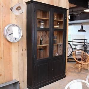 Mobilier Industriel Ancien : mobilier industriel ancien meuble de commerce en bois ~ Teatrodelosmanantiales.com Idées de Décoration
