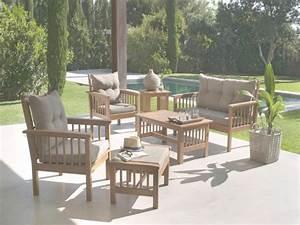 Salon De Jardin Acacia : salon de jardin en acacia id es de d coration int rieure french decor ~ Teatrodelosmanantiales.com Idées de Décoration