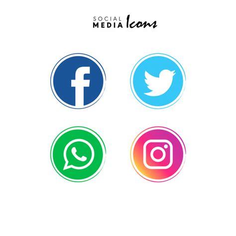 Social Media Icons Vector Social Media Icons Vector Free