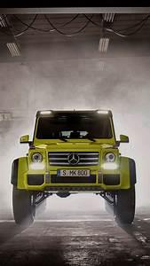 Mercedes-Benz-G500 4x4-Front-iPhone-Wallpaper - iPhone