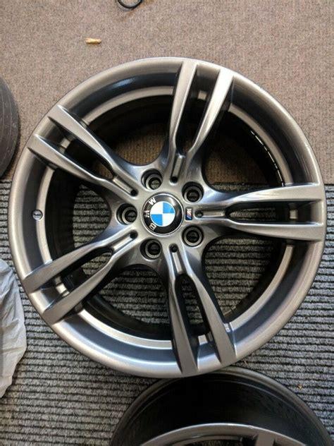 Bmw 18 Inch Rims by 4 X Bmw 18 Inch Alloy Wheels Spoke 400m M Sport