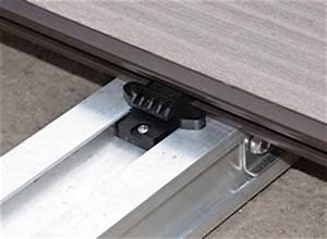 Unterbau Für Holzterrasse : aluminium unterbau f r terrassen garten news f r heimwerker ~ Markanthonyermac.com Haus und Dekorationen