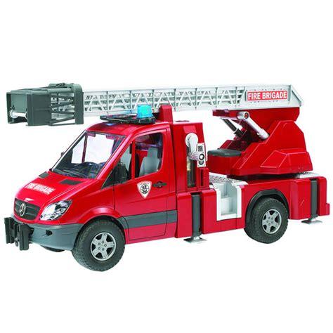 siège bébé pour portique camion de pompier mercedes bruder king jouet les autres