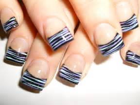 Hot pink nails with zebra tips images pictures becuo