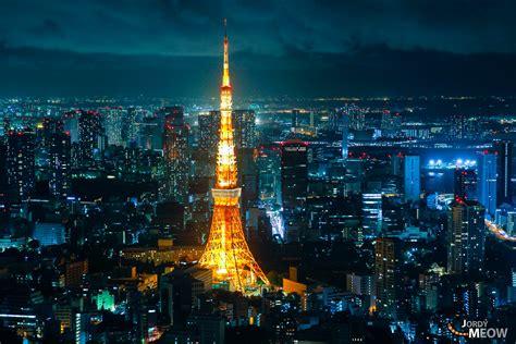 Tokyo Tower, Shining At Night