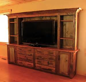 Pool Cue Cabinet by Hand Made Rustic Entertainment Center By Custom Rustic