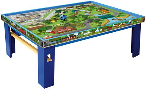thomas the tank engine table thomas friends wooden railway island of sodor playtable