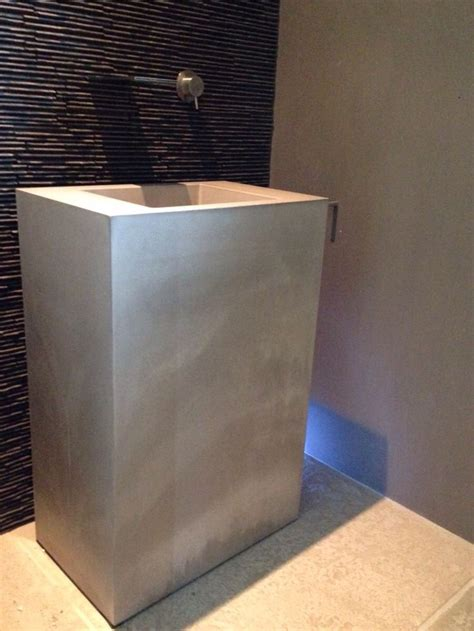 toilet fontein beton 25 beste idee 235 n betonnen wastafel op