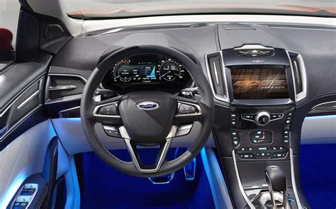 ford edge suv concept details machinespidercom