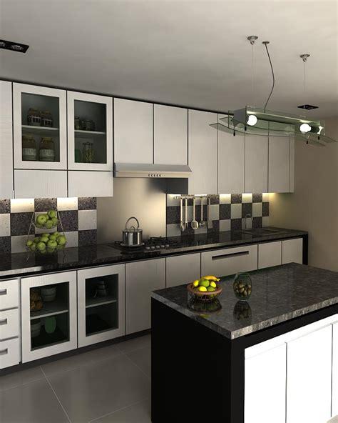 desain kitchen set minimalis terbaru renovasi rumahnet