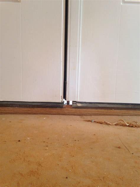 Door Gap & Large Gap Under My New Exterior Prehung Door