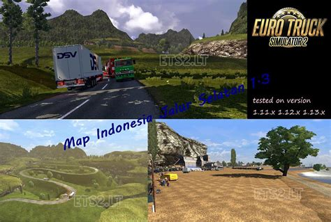 map indonesia jalur selatan  add  ets  mods