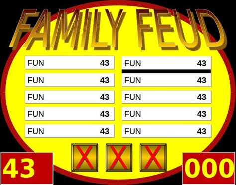 Family feud® & friends apk. 8+ Family Feud PowerPoint Templates - Free Sample, Example, Format Downlaod!   Free & Premium ...