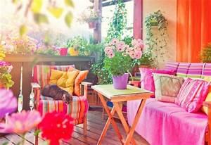 Balkon Ideen Sommer : 10 balkon ideen den balkon sommerlich gestalten ~ Markanthonyermac.com Haus und Dekorationen