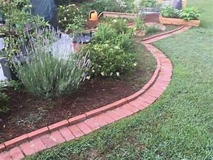 Diy, Brick, Garden, Edging