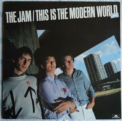 マーメイド号の紙ジャケだけじゃ生きてゆけない the jam this is the modern world uk盤をクリーニング